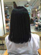 縮毛矯正です!☆ 艶がでて綺麗になりました!! vancouncil千種店所属・増田健吾のスタイル