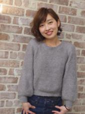 AUBE hair garden所属・下釜沙貴のスタイル