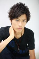 サイドパートアップバング ご予約→http://beauty.hotpepper.jp/smartphone/slnH000338078/ hair design West Side STANDARD所属・IkeshitaDaisukeのスタイル