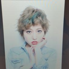 ハイトーンベージュ+ポイントカラー MODEks 心斎橋所属・ダディー西久保(・∀・)のスタイル