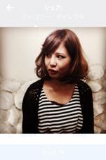 ボブスタイル hairmagic所属・永岡宏章のスタイル