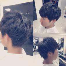 マッシュベースに束感と動きのあるパーマでセットもしやすくオシャレに hair make Ash所属・佐藤光輝のスタイル