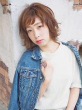 hair&make farbe所属・藤本しずかのスタイル