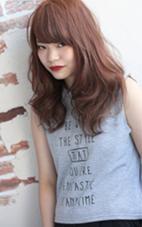 【butter×ルージュブラウン】 ダブルカラー。秋に人気の赤系カラーです♪ hair styling room【butter】所属・福本結花のスタイル