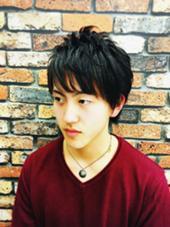 束感ショート  barbier GRAND GINZA所属・菊地武治 グラン マネージャーのスタイル