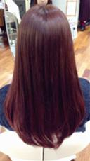 ピンクバイオレットのグラデーションカラー of hair所属・夏山秀憲のスタイル