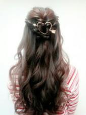 こちらのヘアアクセサリーはモデルさん私物です❤ POSH HARAJUKU所属・林まりえのスタイル