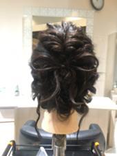 髪の毛でリボンヘアアレンジ➳♡゛ Jente所属・佐竹菜摘のスタイル