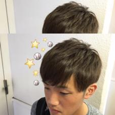 #メンズ #ブルーアッシュ wiz by style所属・関口佳奈のスタイル