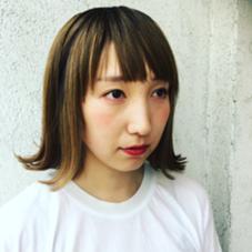 バツ切りボブに外ハネで夏らしく PESCO PESCA所属・篠田智香子のスタイル