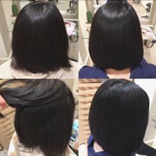 ナチュラルストレート✂︎ Octo. hair所属・中島舞美のスタイル