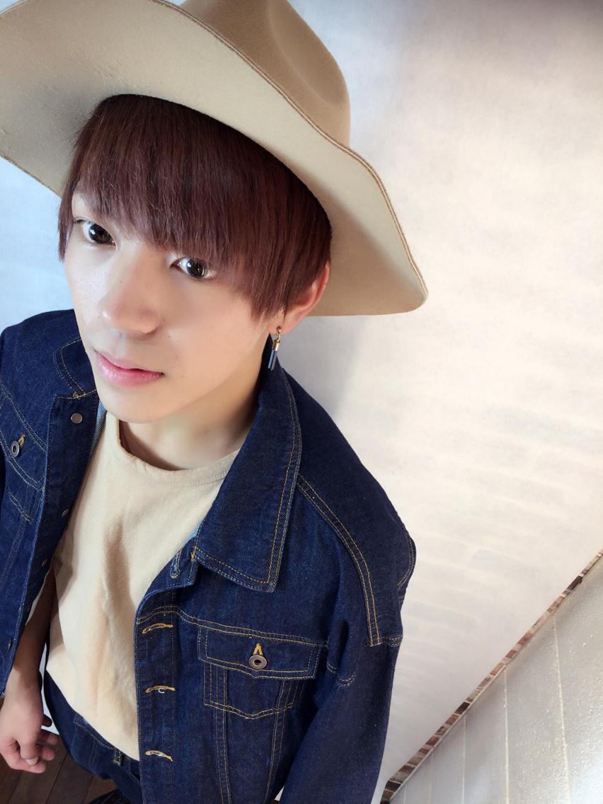 #ショート #カラー #メンズ ベビーピンクダブルカラー6000円