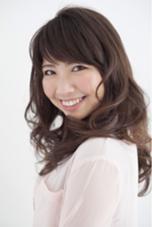 パーマをかけて、華やかスタイル^_−☆ イリューム佐倉店所属・斉藤由香利のスタイル