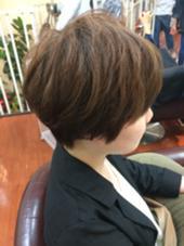 スッキリショート 頭の形を綺麗に出します hair an floren所属・ミツハシカズキのスタイル