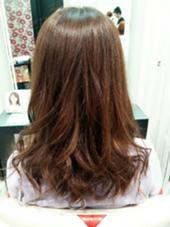 潤つやカラー アッシュブラウンにバイオレットをいれて艶かんだしました! hair&make EARTH浜町店所属・よしおかあおいのスタイル