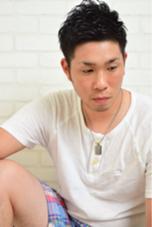 メンズパーマスタイルです! 短めのパーマスタイルもかっこいいです! haco+yuimarl所属・井上翔のスタイル