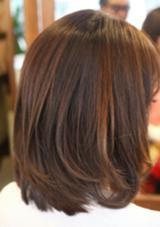 ボブスタイル STYLE  hair所属・野上幹太のスタイル