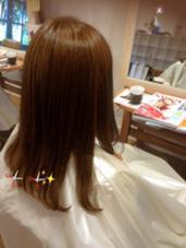 パープル→ブリーチなしのできるとこまでトーンアップ! hair musee 柱店所属・山本夏菜のスタイル