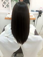 メニュー:縮毛矯正Light クセを伸ばしたいけど自然なまとまりにしたい方におすすめです(^ ^) 松本平太郎美容室吉祥寺本店所属・千葉史保子のスタイル