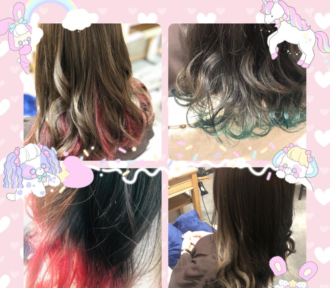 🦄大人気のカラーお任せ下さい🦄✨ハイトーンもワンカラーも素敵なカラーにしましょう🍬話題の髪質改善トリートメント導入✨✨髪質に合わせたトリートメントもございます!!