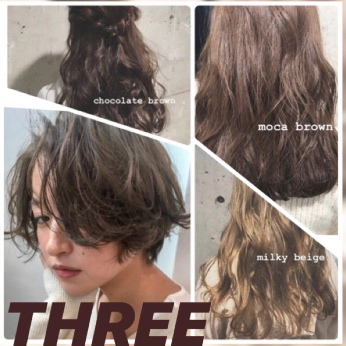 THREE所属・🌥THREE👡ARISAの掲載