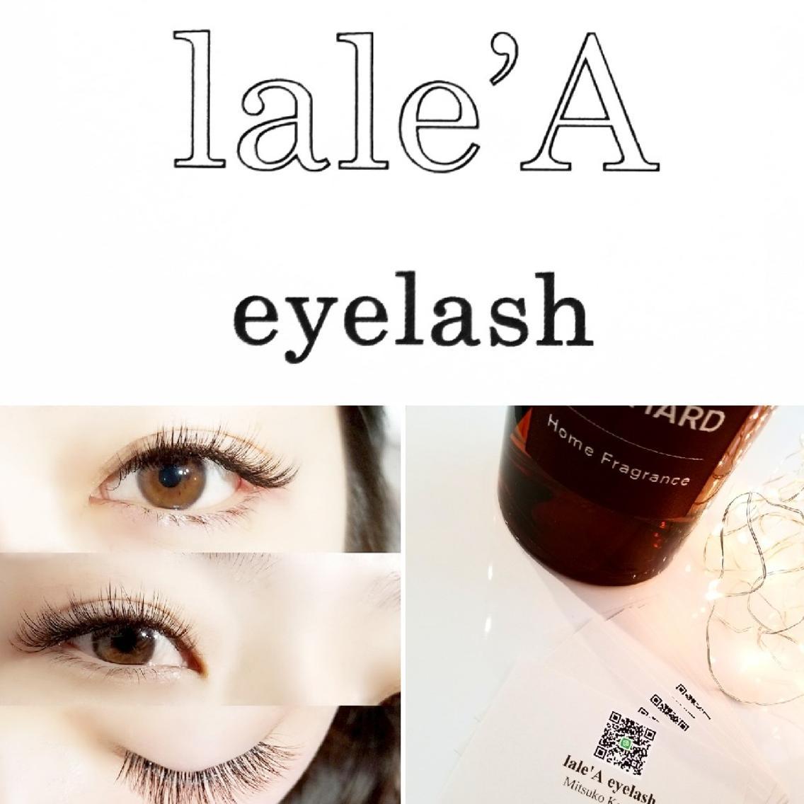 lale'A eyelash所属・kagawamitsukoの掲載