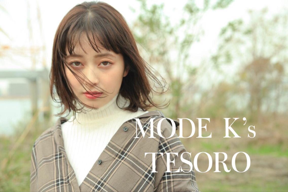 MODE K's  TESORO所属・駒田 陵(店長)の掲載