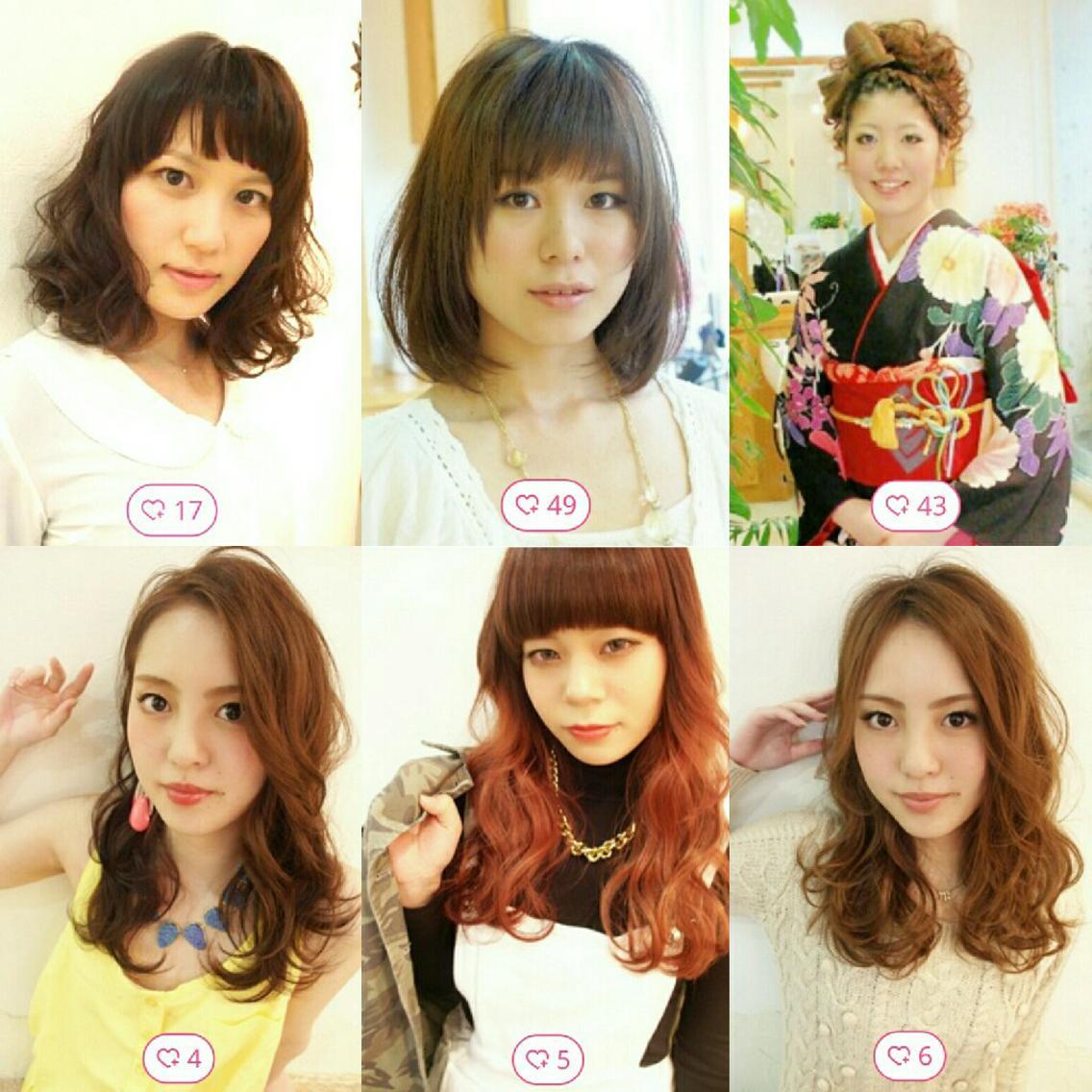 FINE   HAIR所属・ファインヘア FINE  HAIRの掲載