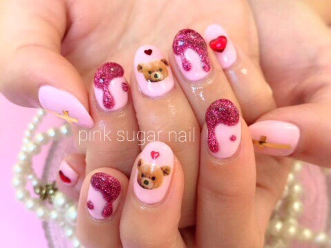 pink sugar nail前橋(旧jewel nail)所属・pink sugarnailの掲載