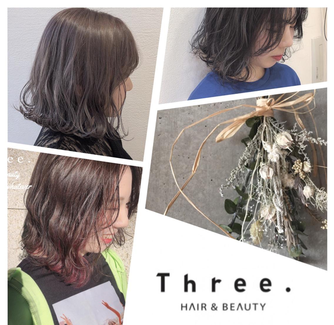 Three.所属・野呂田ひかるの掲載