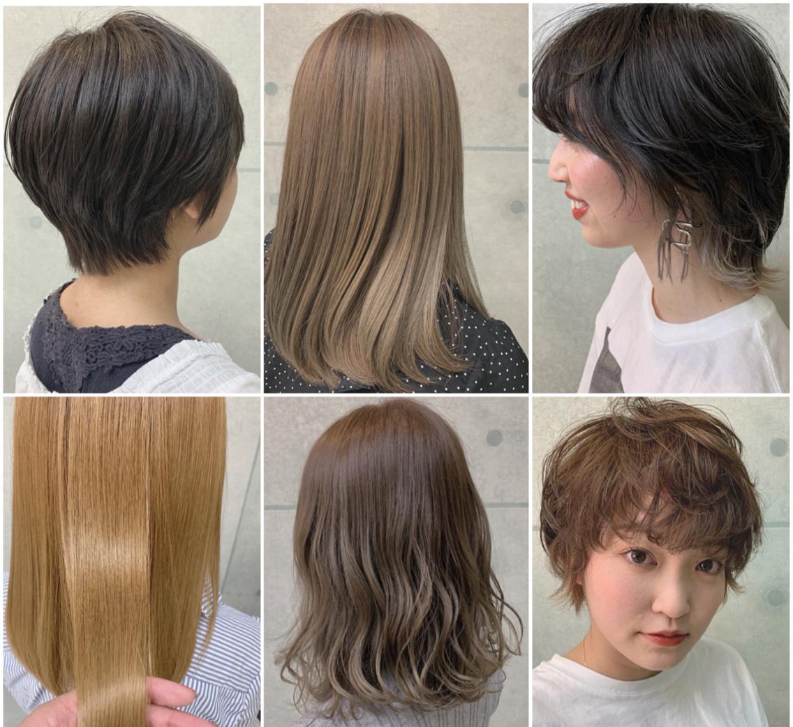 ⭐️色素薄い系女子を目指している方必見⭐️透明感のある明るくオシャレな髪型へ⭐️ショートヘア得意です!!⭐️