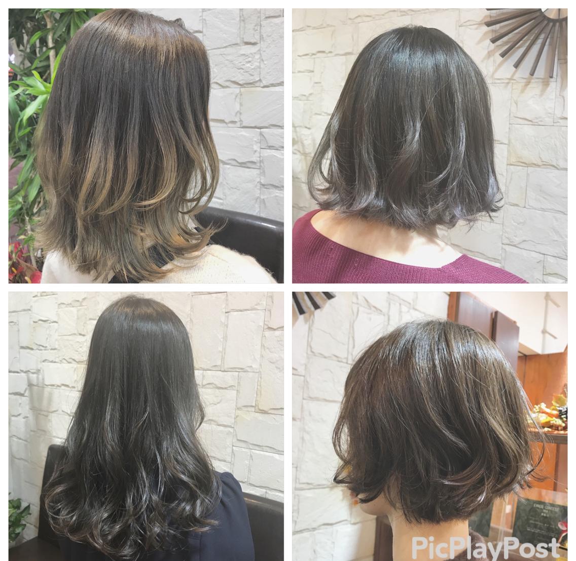 【❤️当日予約ok❤️】ケア重視のmenuなので髪の毛を美しく保ちながらお洒落が楽しめます!髪のお悩みがある方ご相談ください!365日綺麗な髪の毛を*