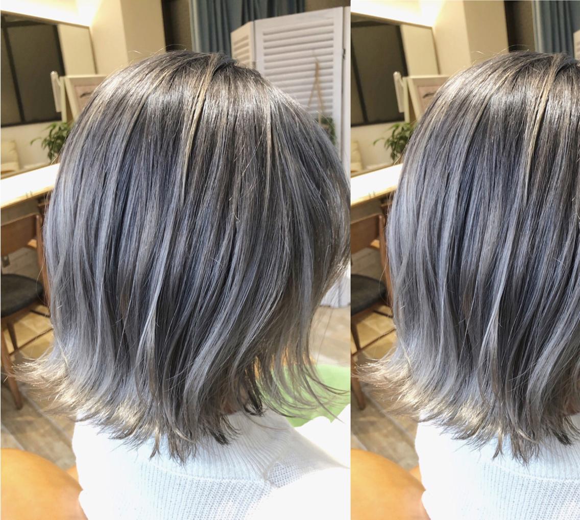 💓✨当日即日予約OK✨💓黒染めではないトーンダウン😍ダメージを94%カットのケアブリーチで傷みを気にせずカラーを楽しみましょう🥰♢安心の技術でお客様に似合うベストなヘアスタイルを提案します😊