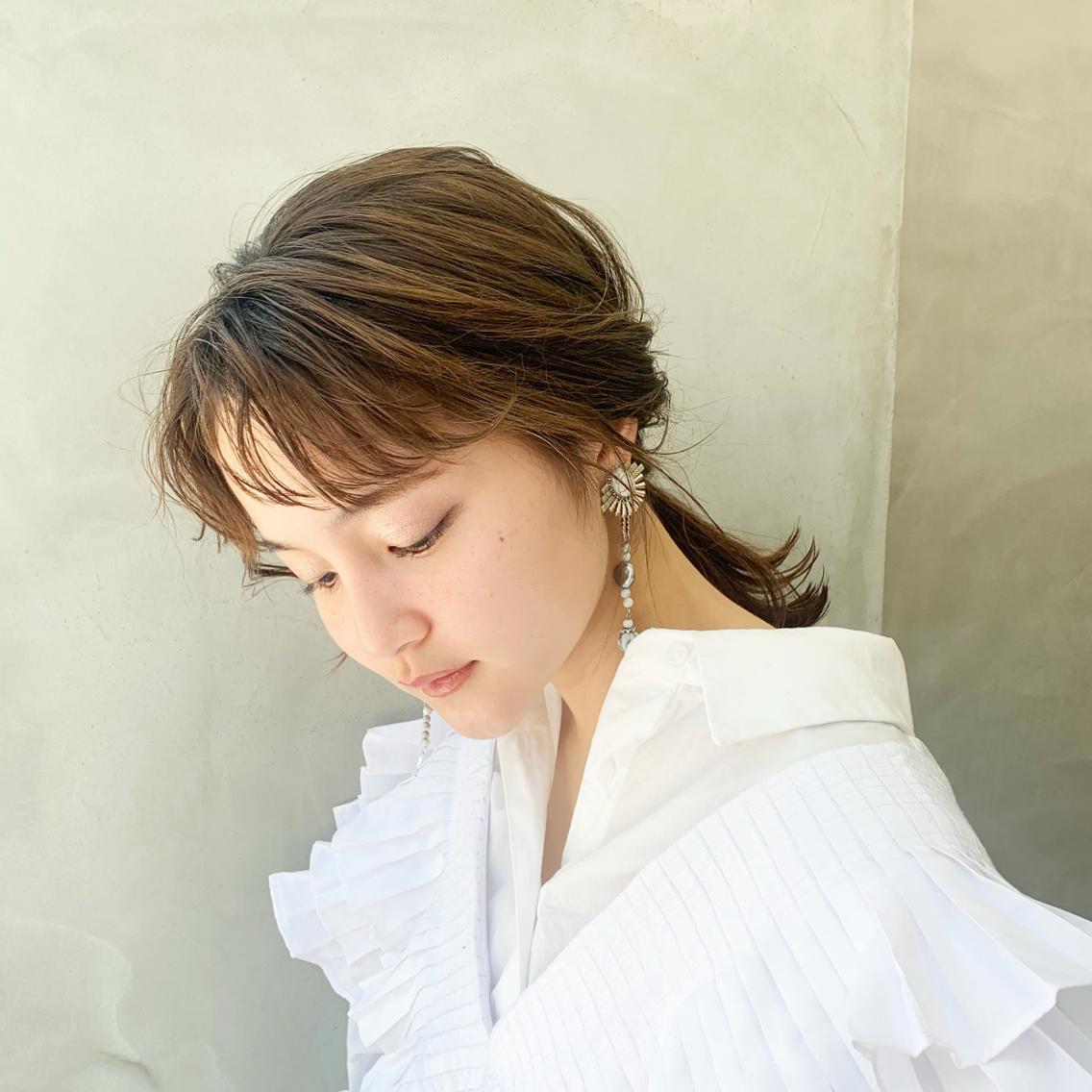 SUN所属・透明感カラー🌿 細川萌依の掲載