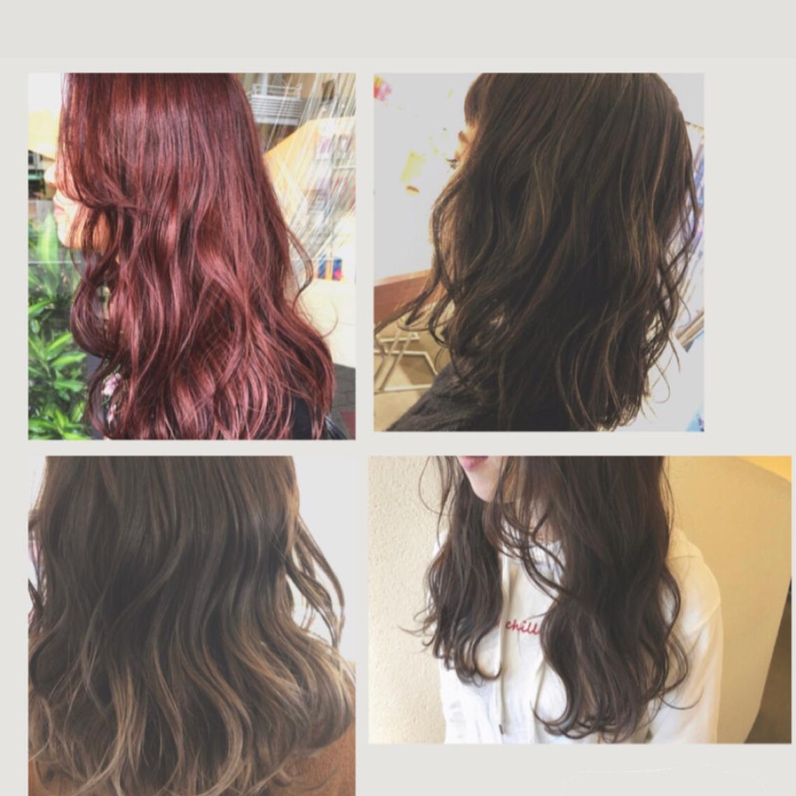 当日予約OK👌土日は+1000円👑特許を取得したRカラー取り扱いしております。カラーをしながら髪の毛強度をあげダメージさせない髪を作る特殊な処方です!!