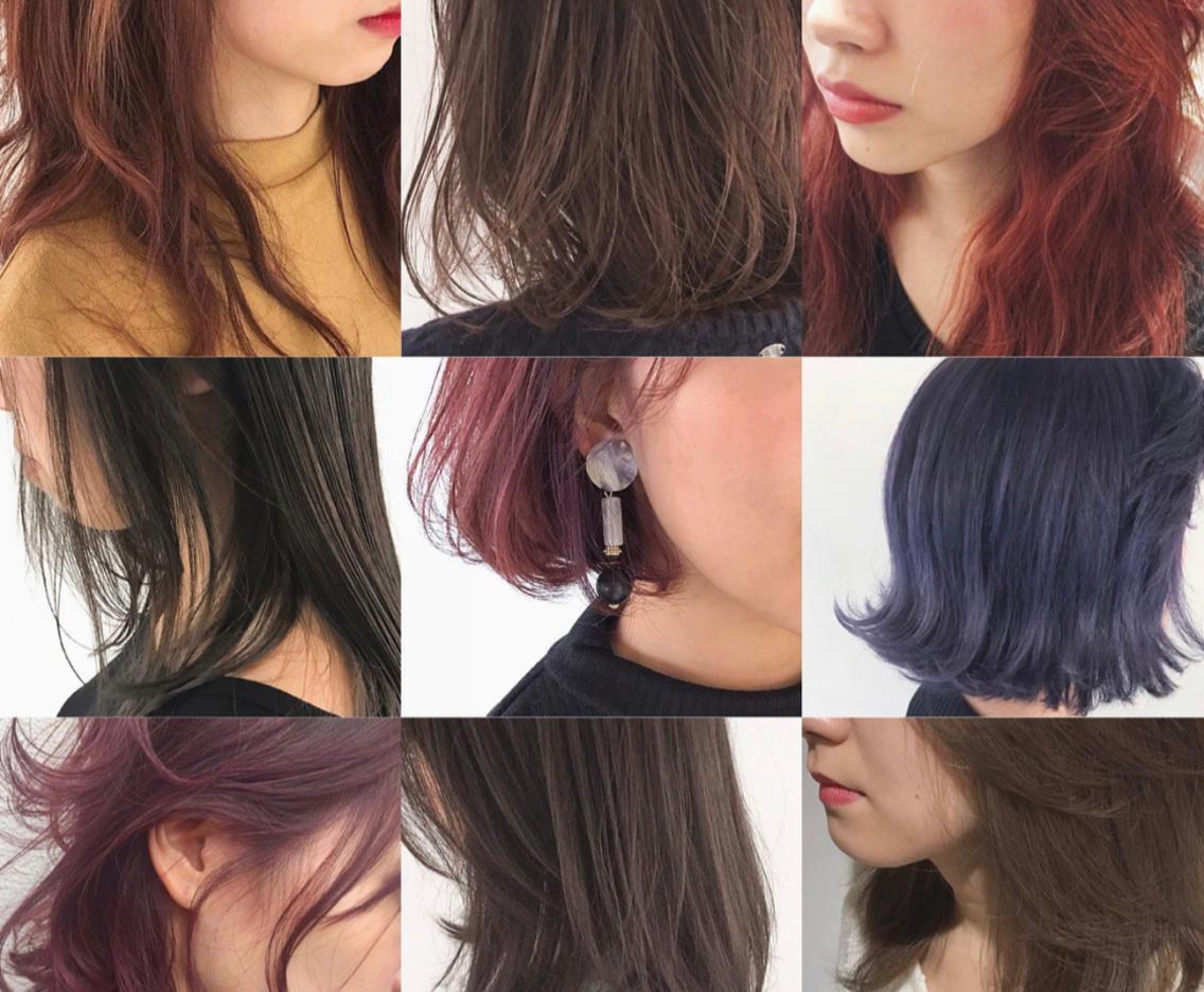 カラーモデル大募集🌈✨ ナチュラルカラー、外国人風カラー、個性派デザインカラーなどお任せ下さい😊 ¥1080〜