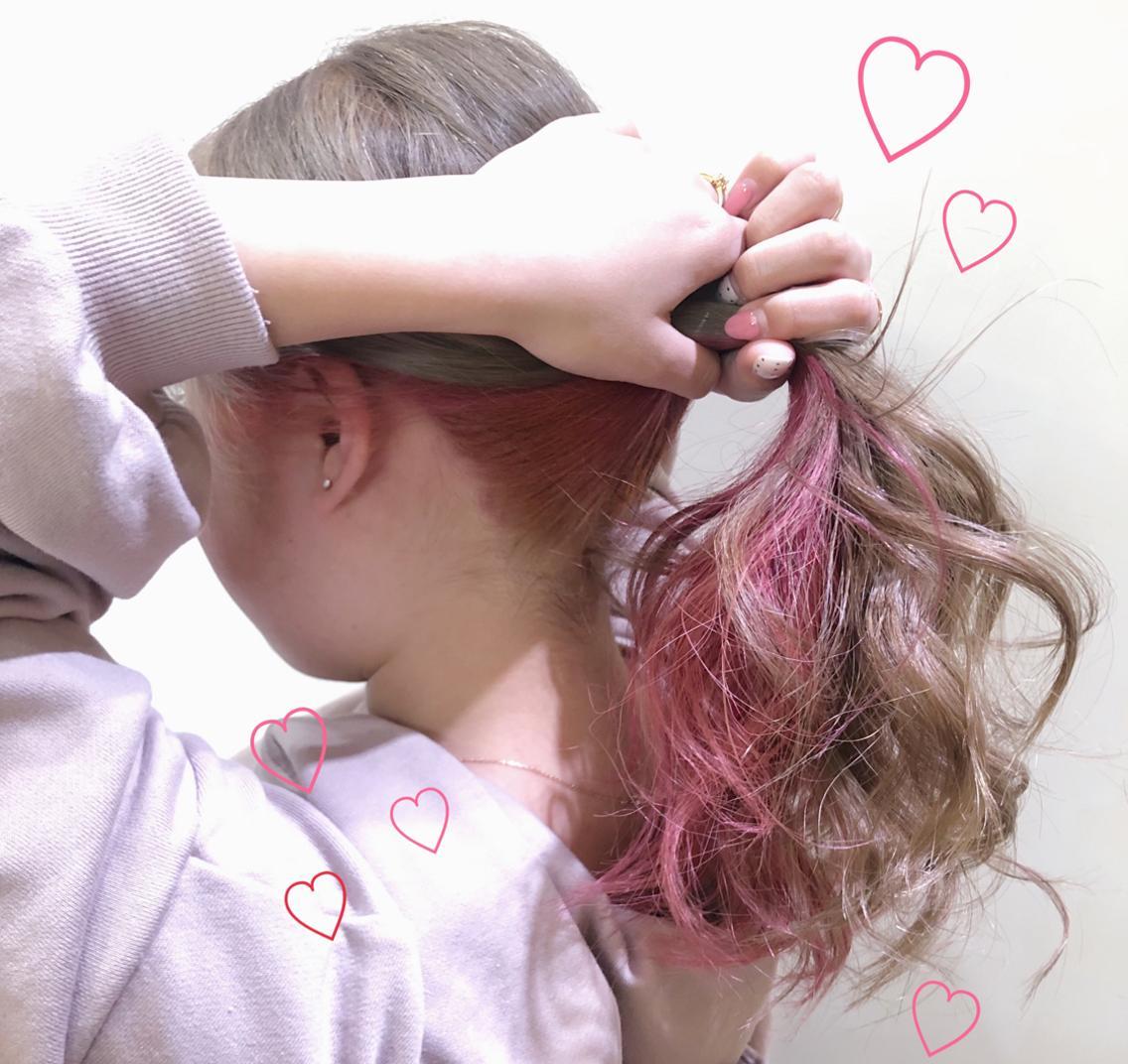 <当日予約OK🙆🏼♀️>本日とても空いてますよ💡🌈natural〜ハイトーンまでお任せください!💘夏限定、学割ありますよ❣️❣️❣️似合うヘアをお届けします💐🍊