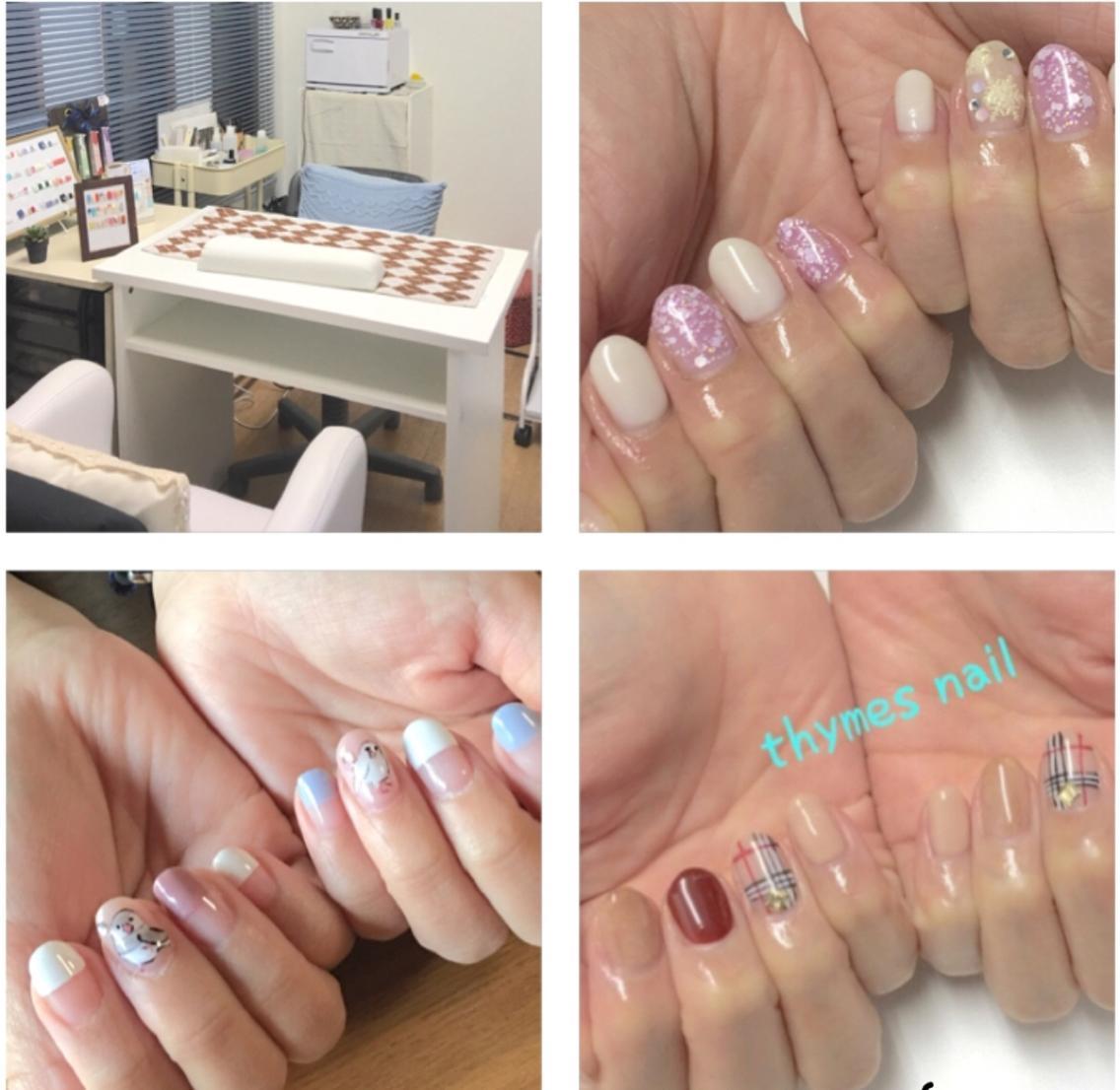 Thymes nail(タイムネイル)所属・Thymes nailの掲載