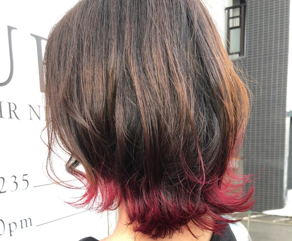AUBE hair nina所属・鳴海悠の掲載