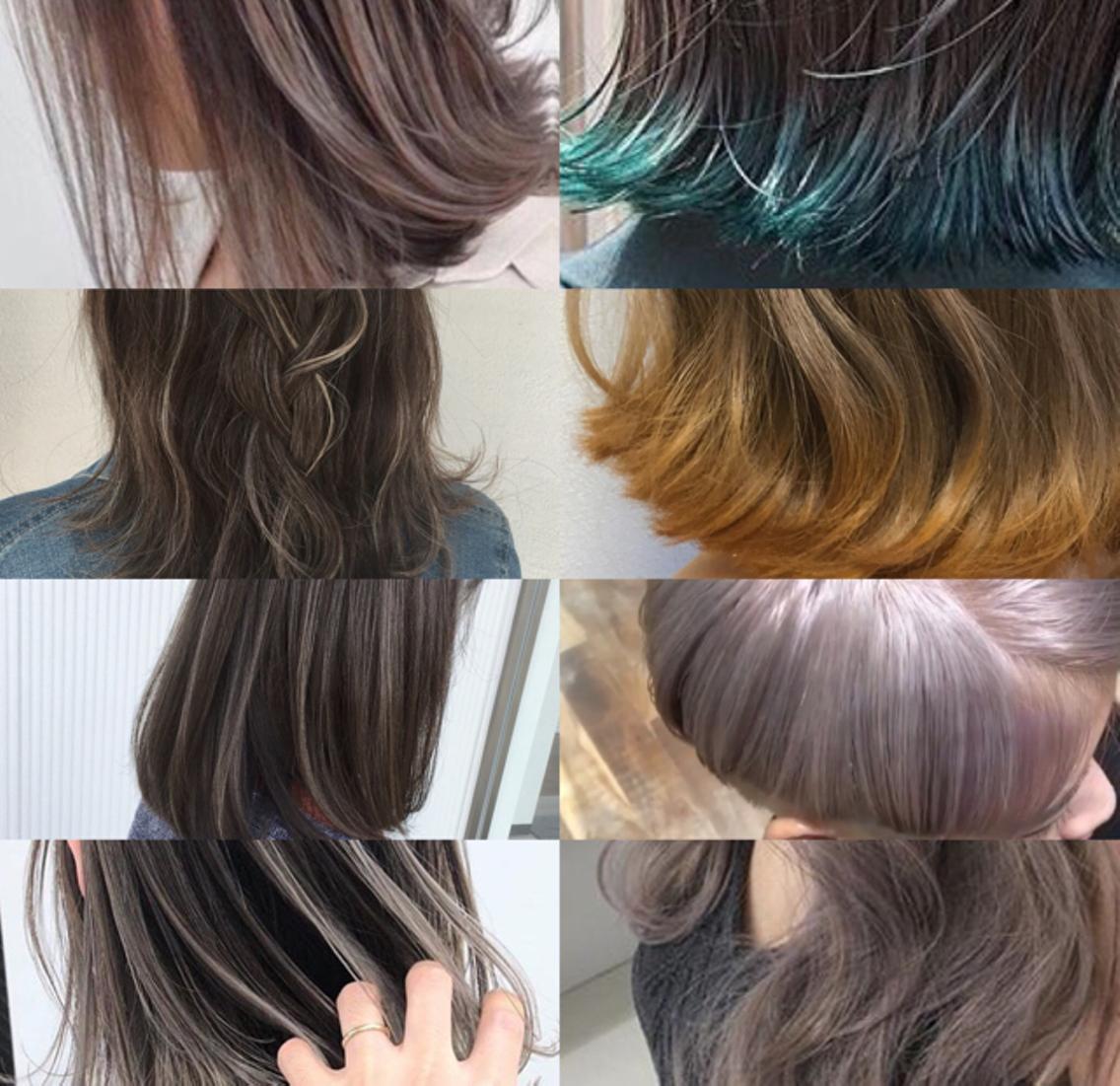 年齢、髪質、顔型、などに関係なくどんなお客様にも必ず似合うスタイルをつくります。Instagram  konpiro1106