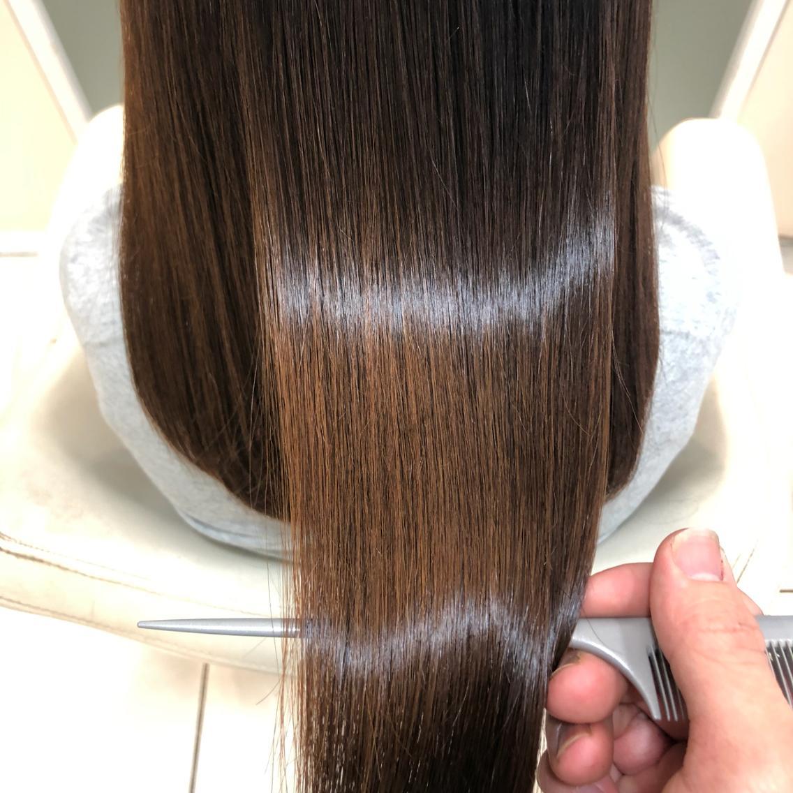 ❤️髪質改善縮毛矯正¥5940🧡ダメージレス縮毛矯正💙ノーダメージ縮毛矯正🖤柔らかい質感、極上のツヤ髪、最上級の美髪をお約束します💚ブリーチ毛、ハイダメージ毛もお任せください💛副店長担当💜