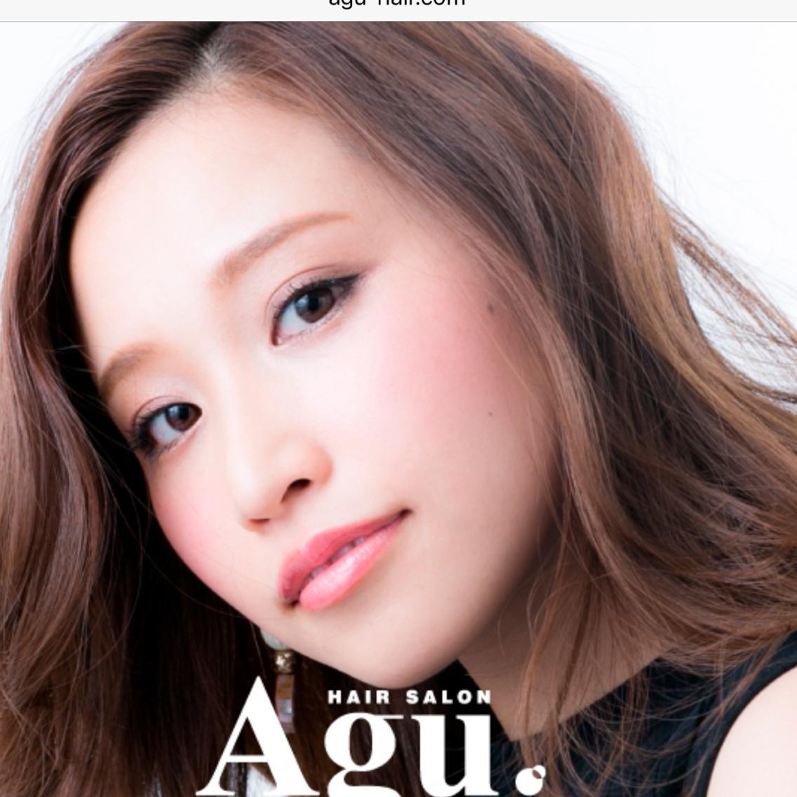 Agu hair park所属・植元拓也の掲載