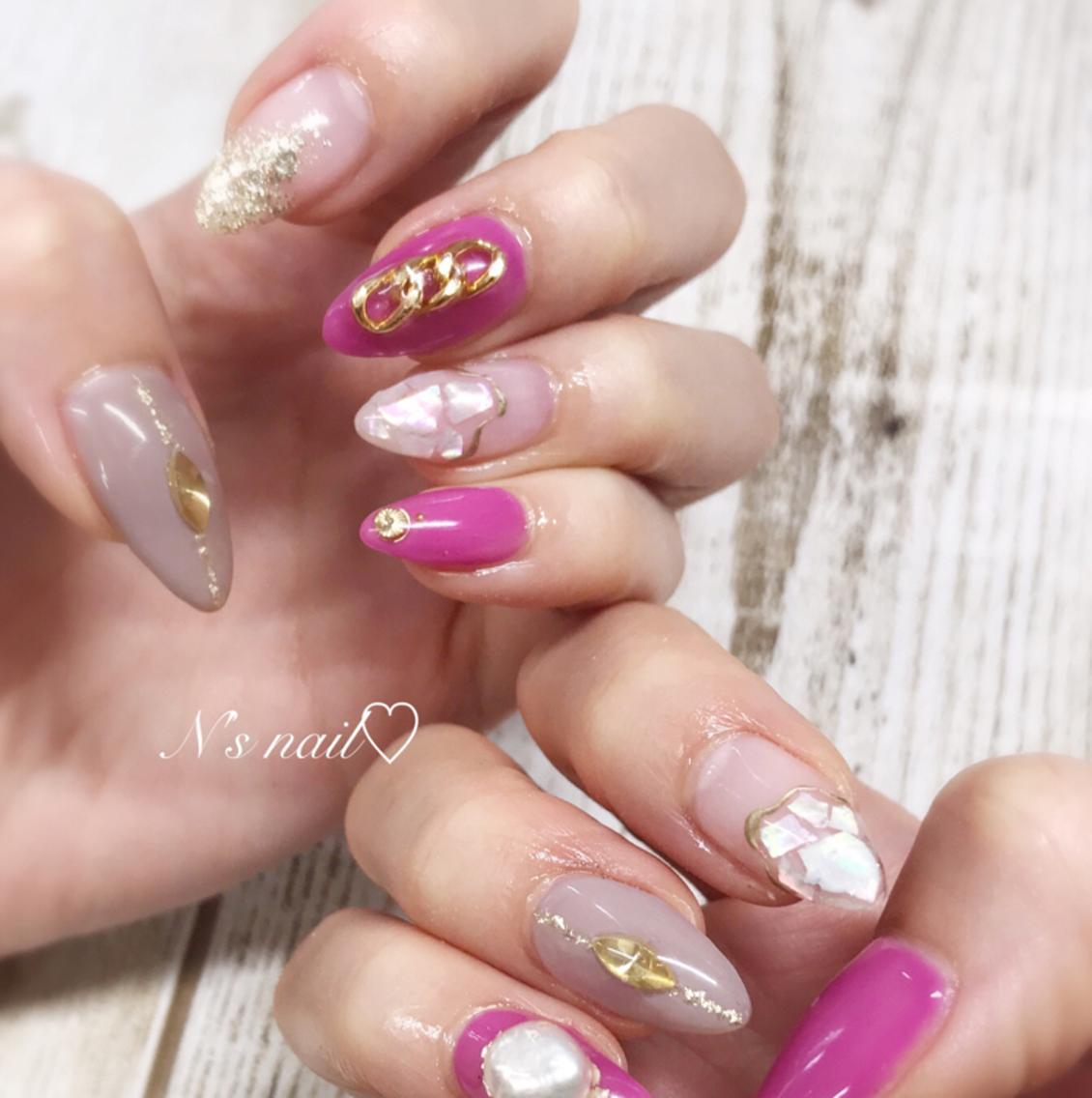 N's nail所属・nnの掲載