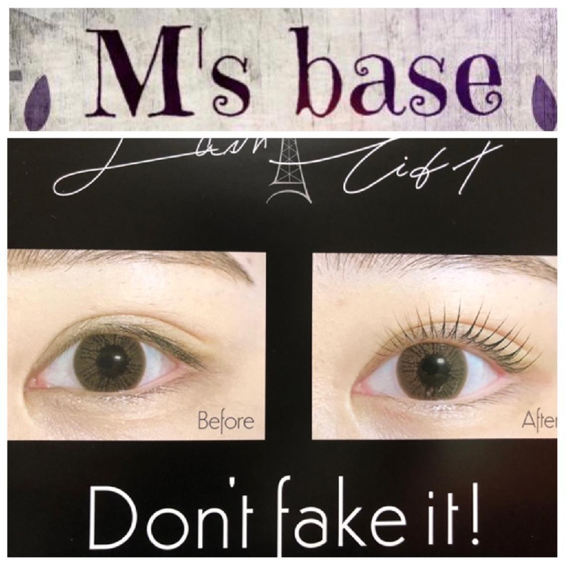 M's base eyelash所属・M's base eyelashの掲載