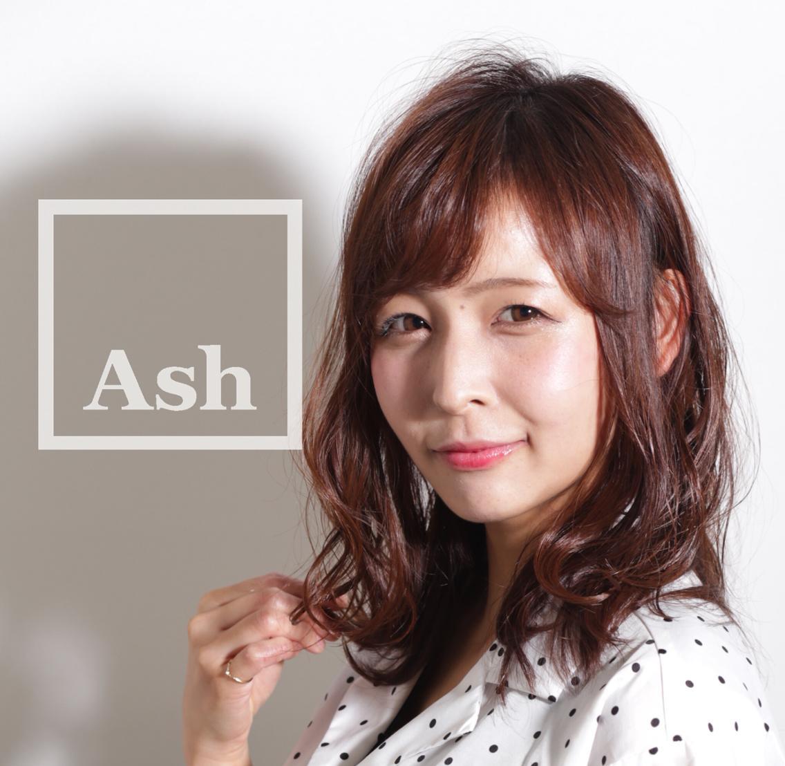 Ash 銀座店所属・トップスタイリスト松崎竜一の掲載