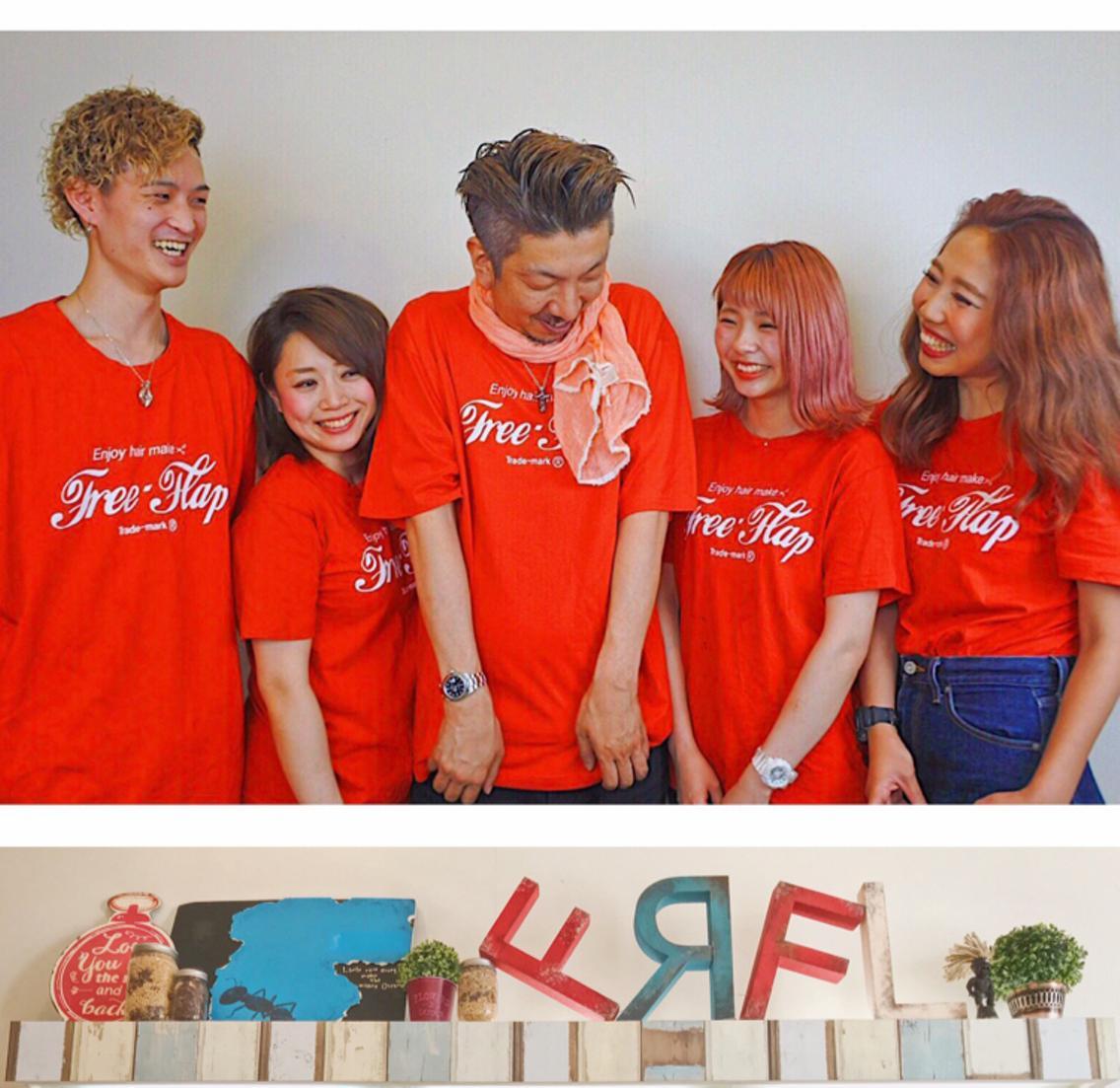 hair FACTORY FREEFLAP所属・丸井流河の掲載