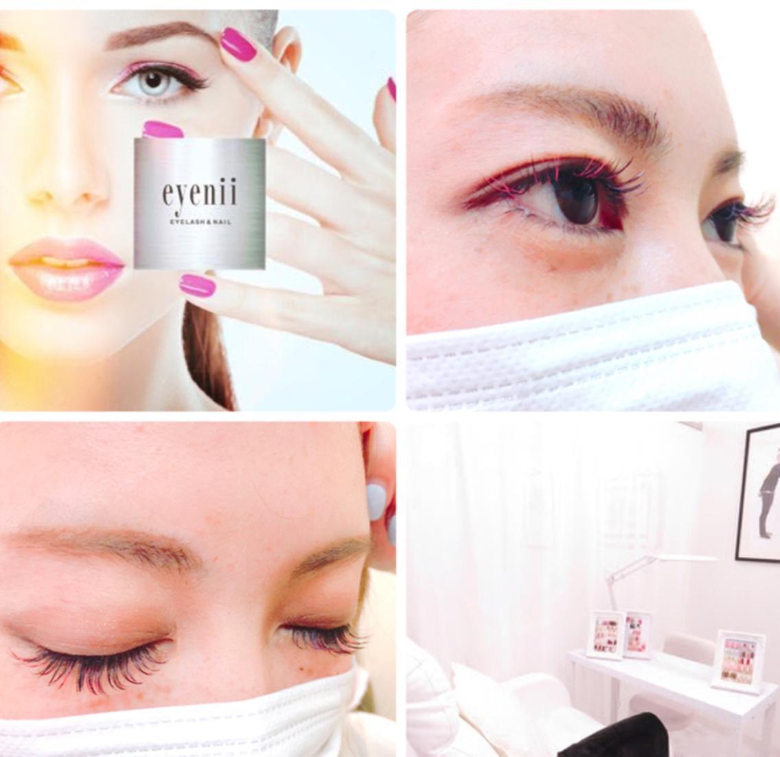 nail&eyelash eyenii☽所属・eyenii. nana☪︎の掲載