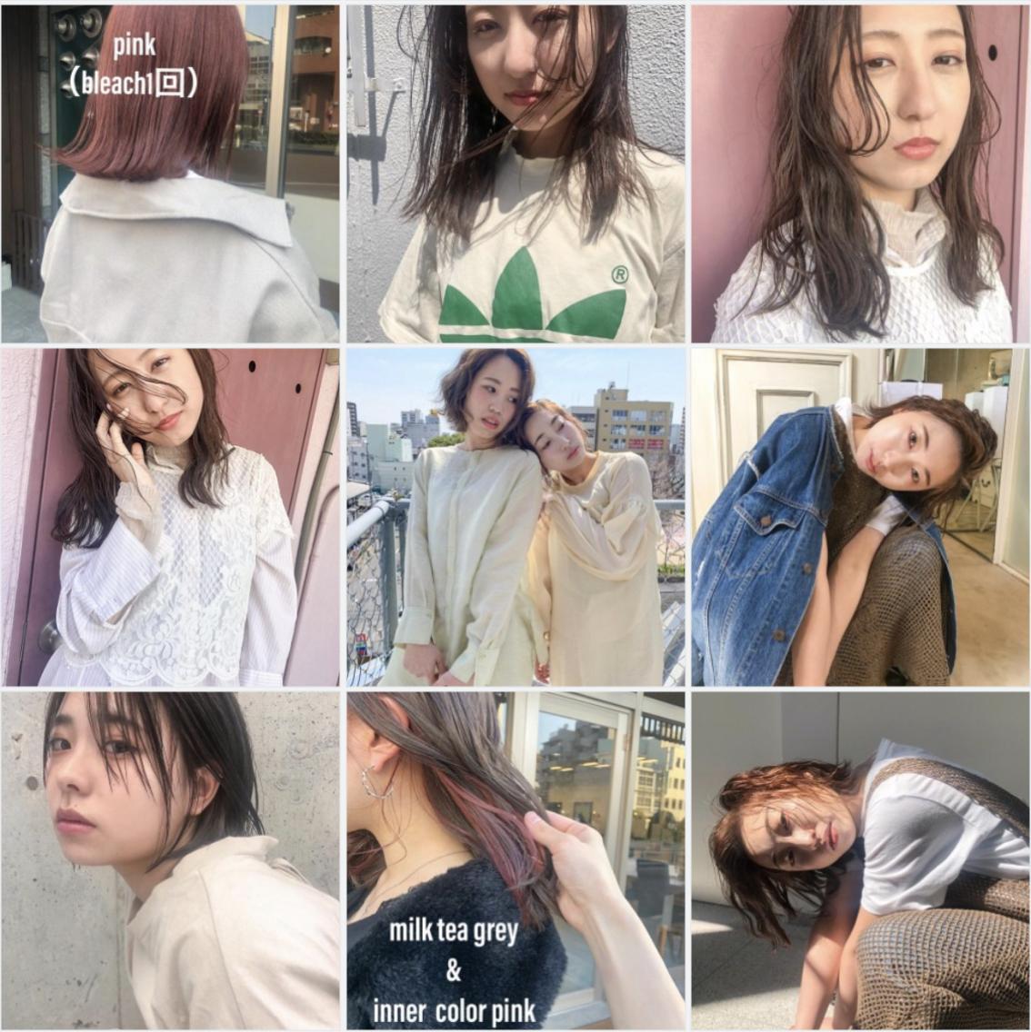 minim hair所属・ハマダ マユミ。の掲載