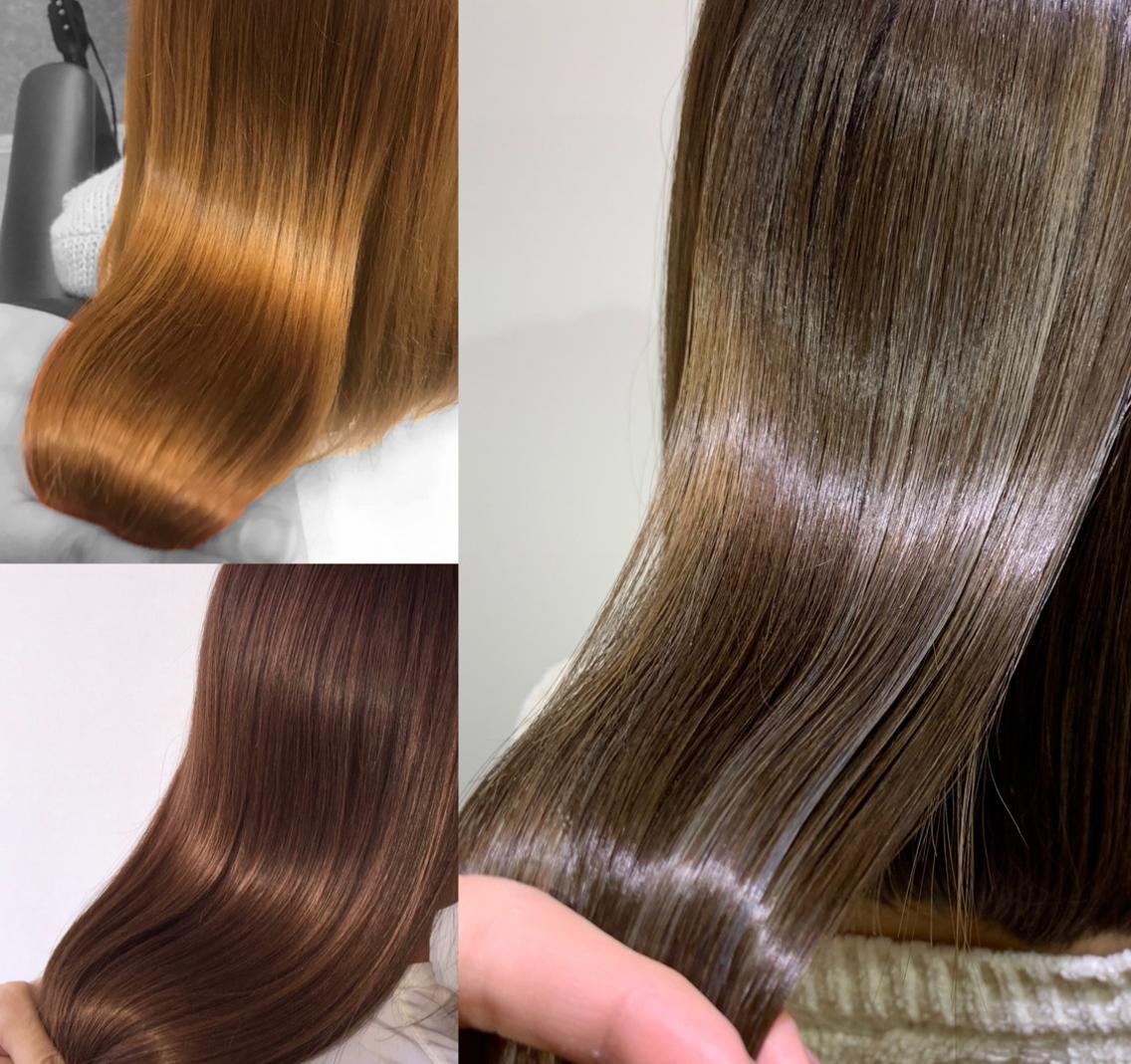 髪と頭皮のタンパク質復元⁉️BCケアホリスティックカラー✨BCケアを施術前後に行うことにより活性酸素を抑えツヤ感をUP⏫【✨Instagramフォロワー1️⃣2️⃣0️⃣0️⃣OVER✨】