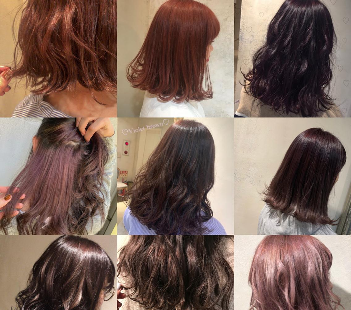 🌼当日予約大歓迎🆗🆗🆗ブラシメインのナチュラルな縮毛矯正得意です‼️髪質改善🌼暖色系カラー、ピンク系、ラベンダー、バイオレットお任せください‼︎💫💛
